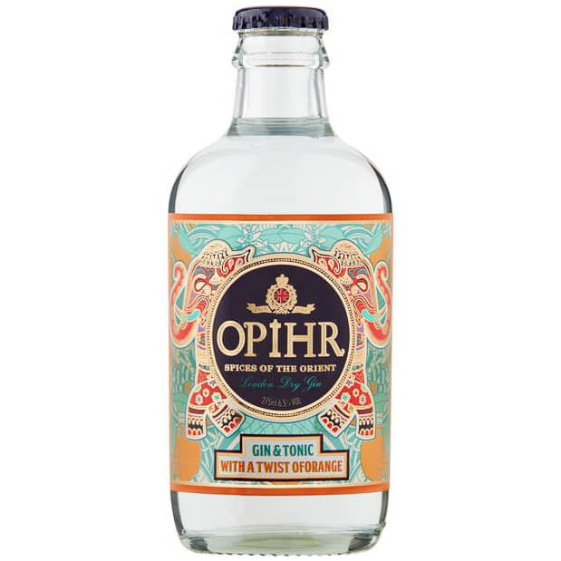 Opihr Gin & Tonic with a Twist of Orange 275ml