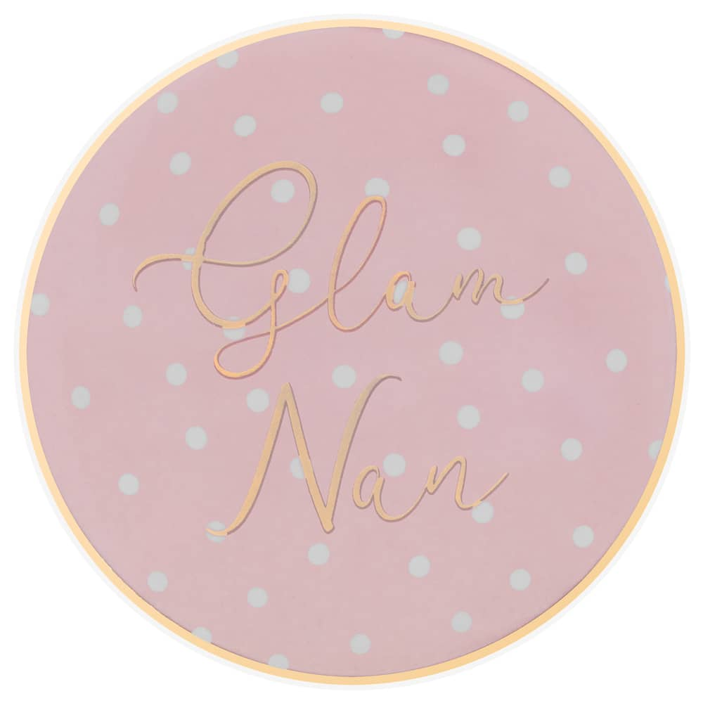 Mother's Day Coaster - Glam Nan