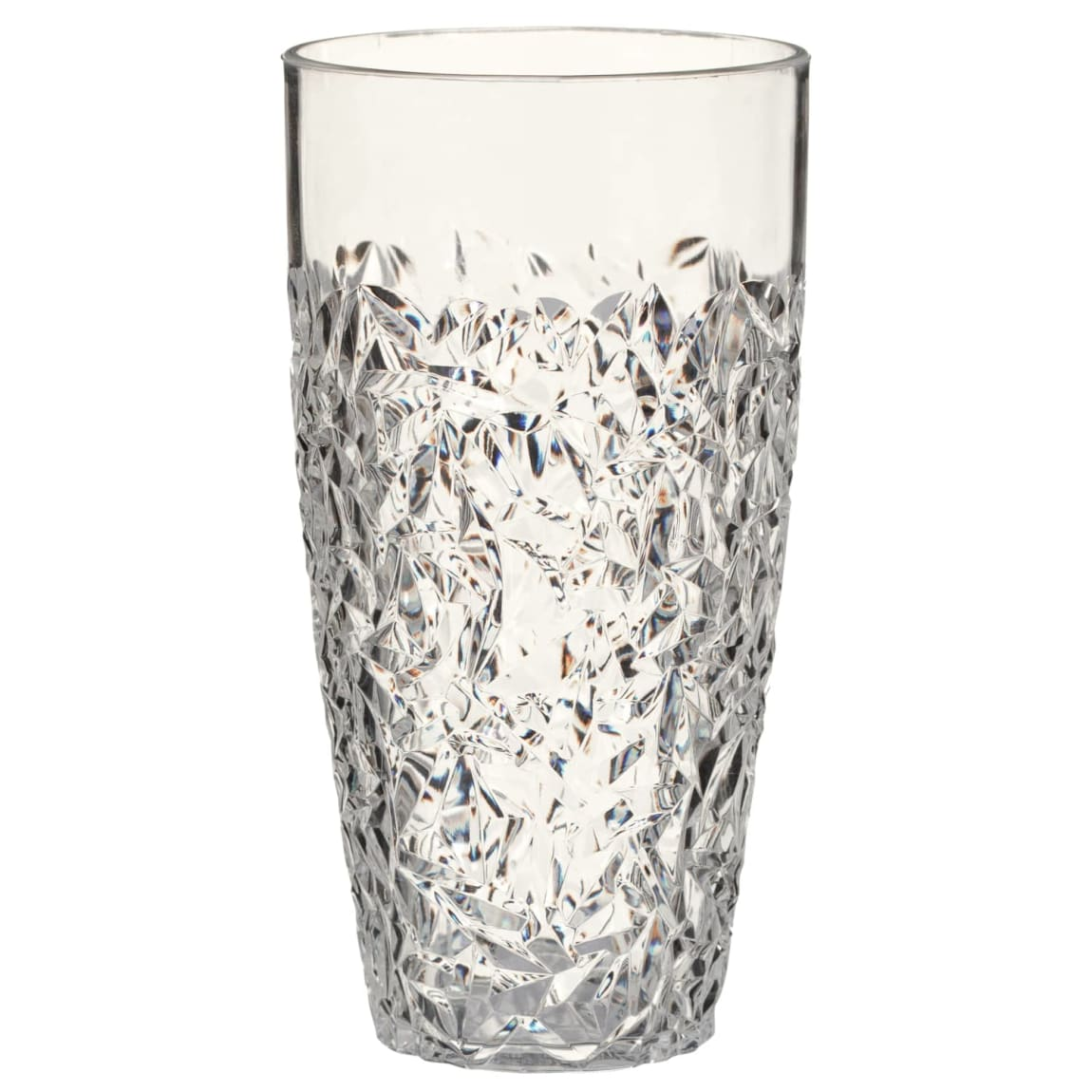 Crackle Effect Tall Tumbler