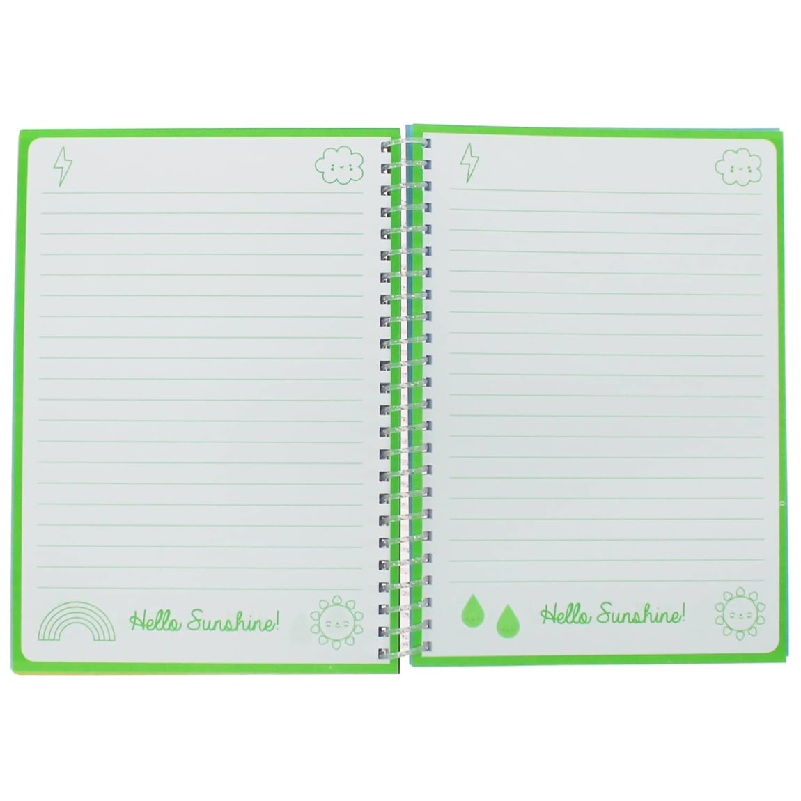 Oh Ok Sunshine A5 Notebook - Live Colourfully