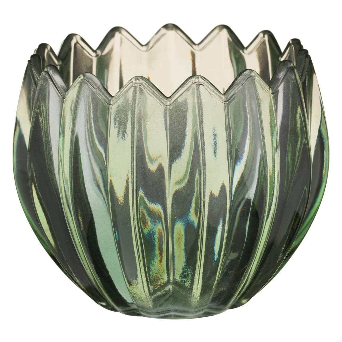 Tealight Candle Holder - Green