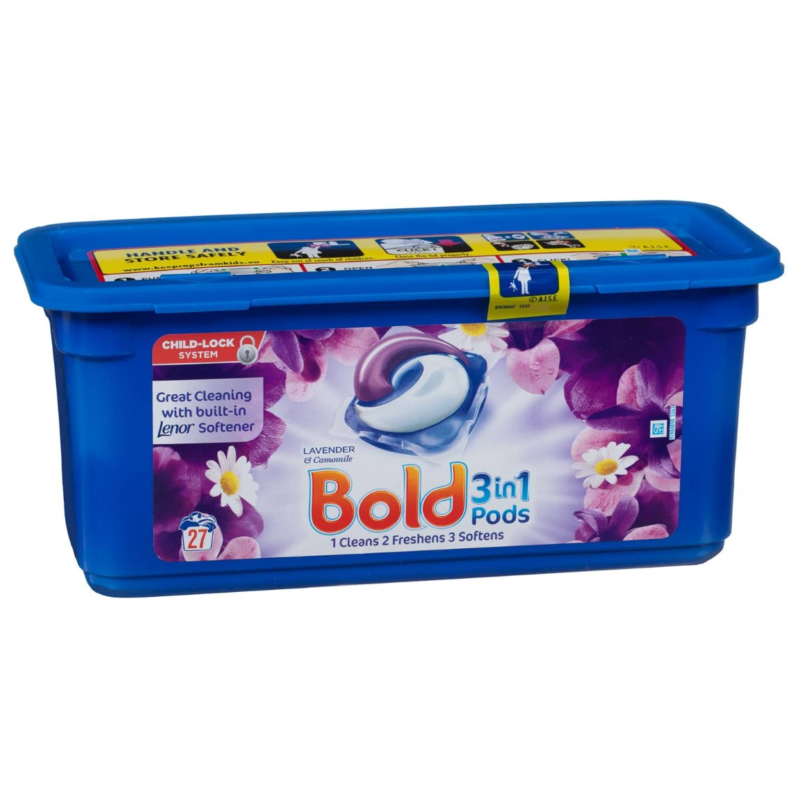 Bold 3-in-1 Pods 27 Washes - Lavender