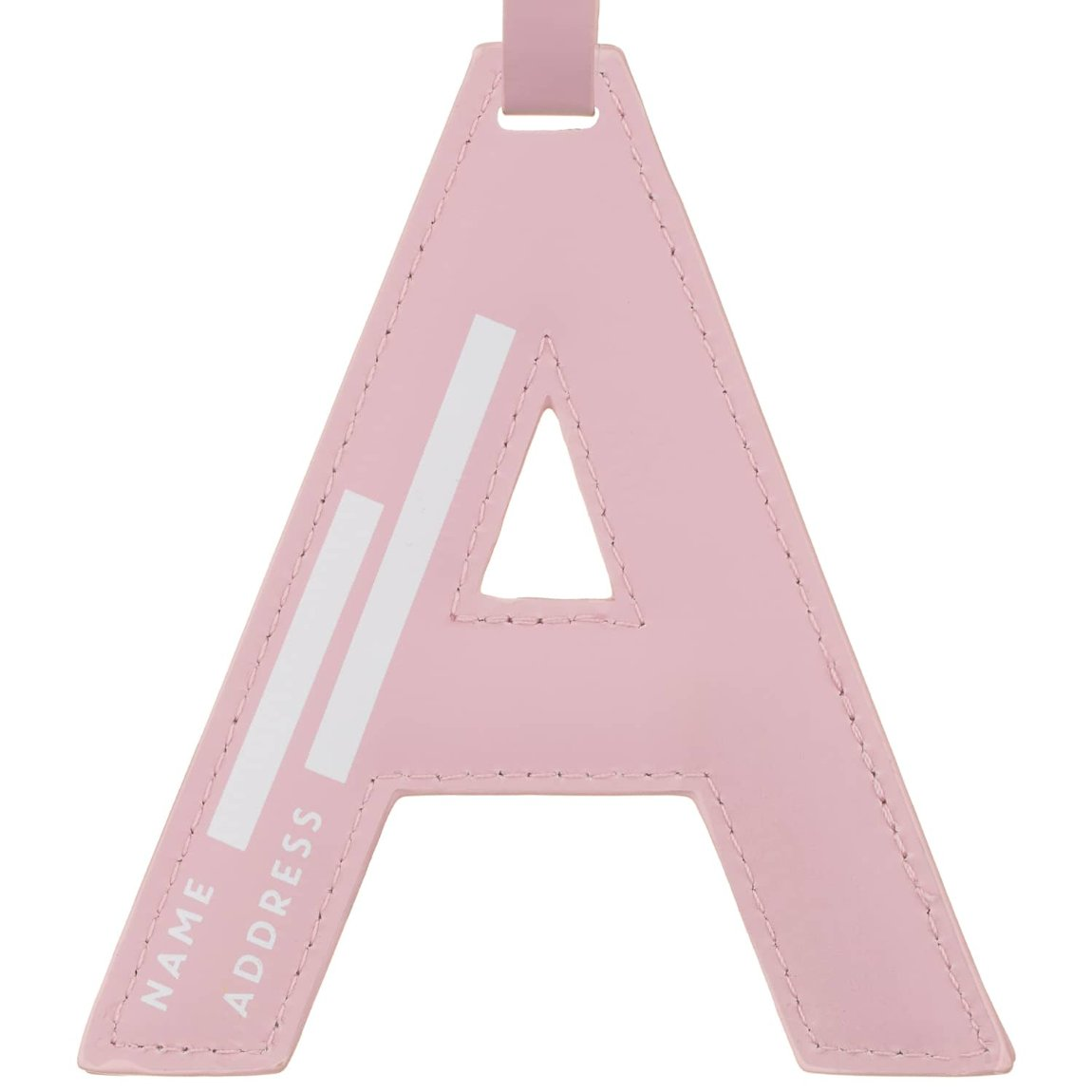 Alphabet Luggage Tag - A