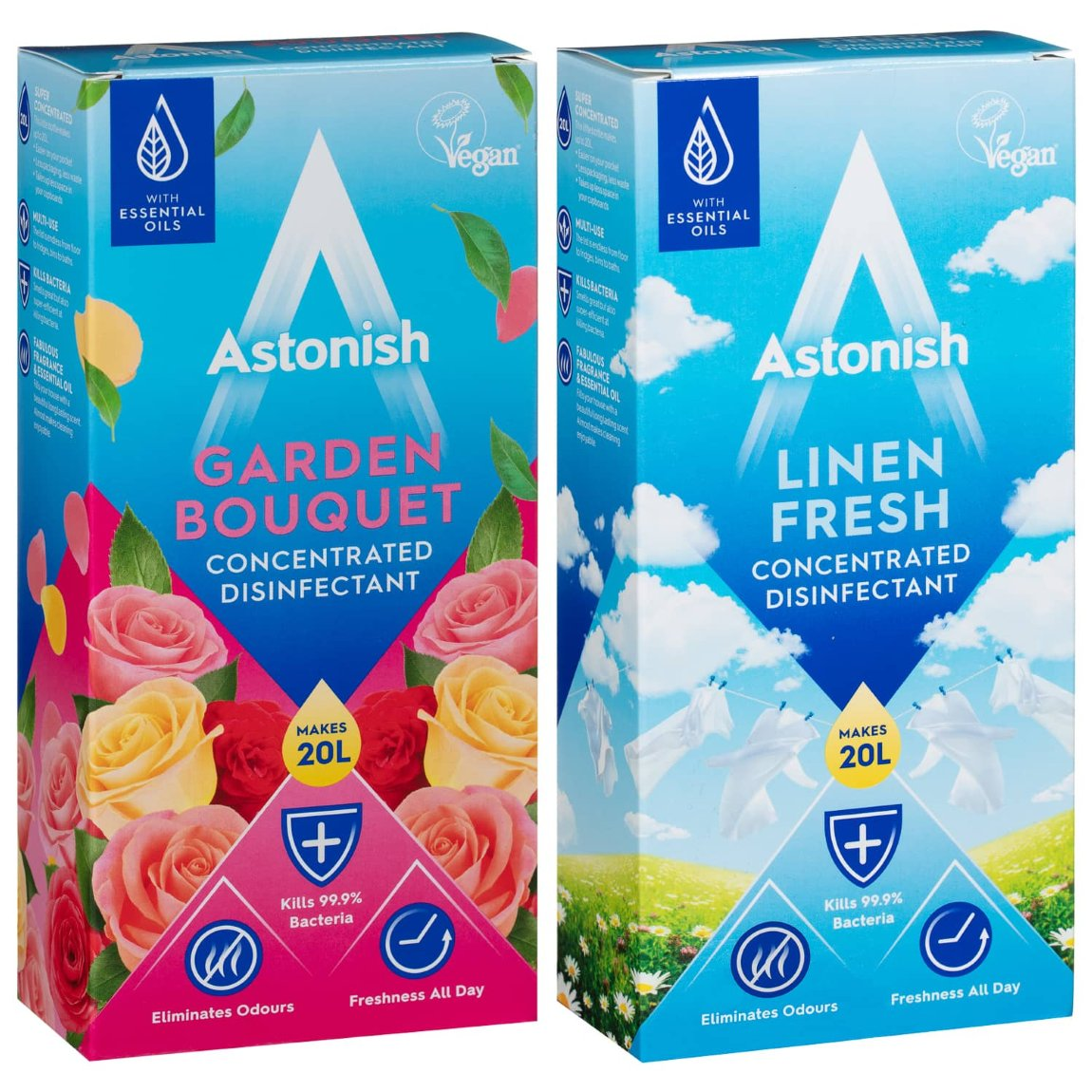 Astonish Concentrated Disinfectant 500ml - Linen Fresh