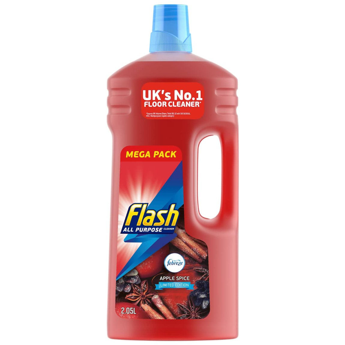 Flash All-Purpose Cleaner 2.05L - Apple Spice