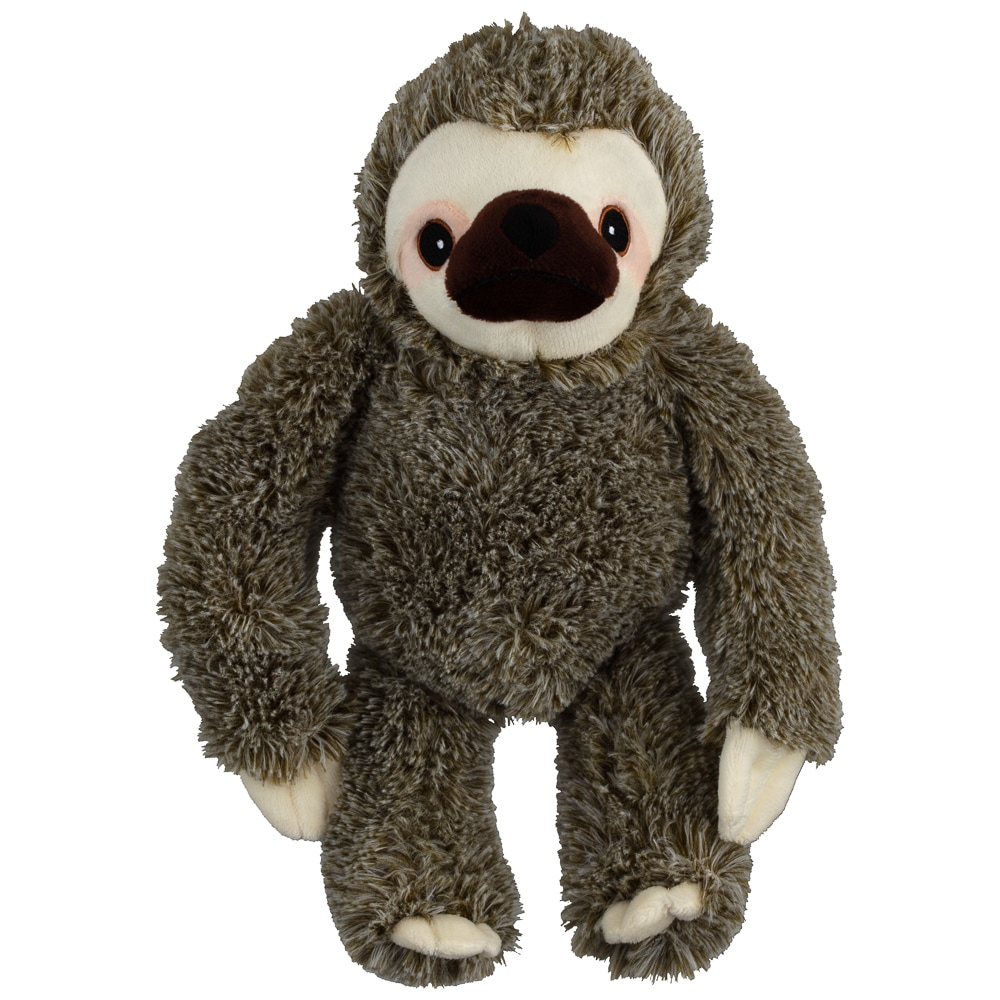 Sloth Dog Toy - Brown