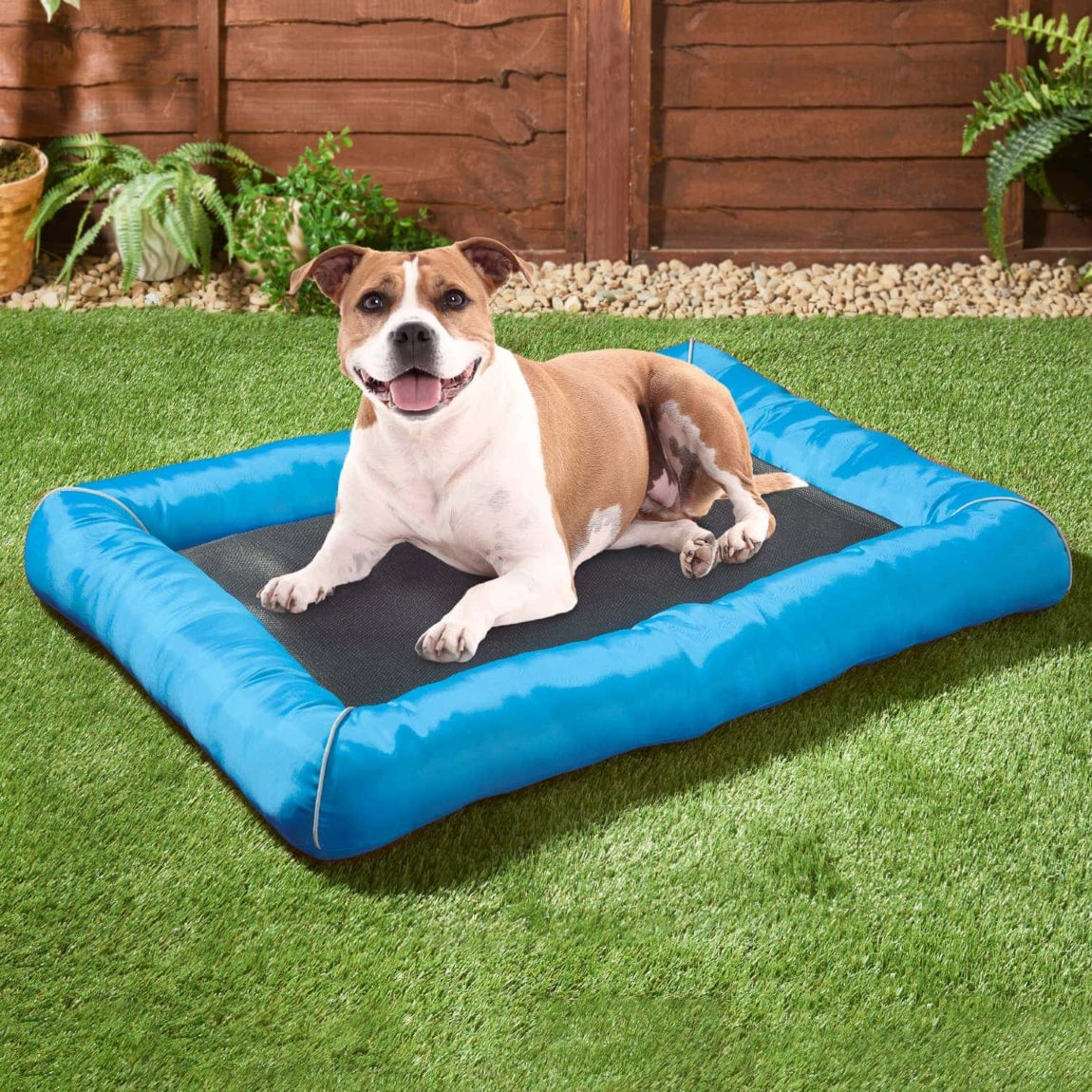 Pet Mattress Cooling Mat - Blue