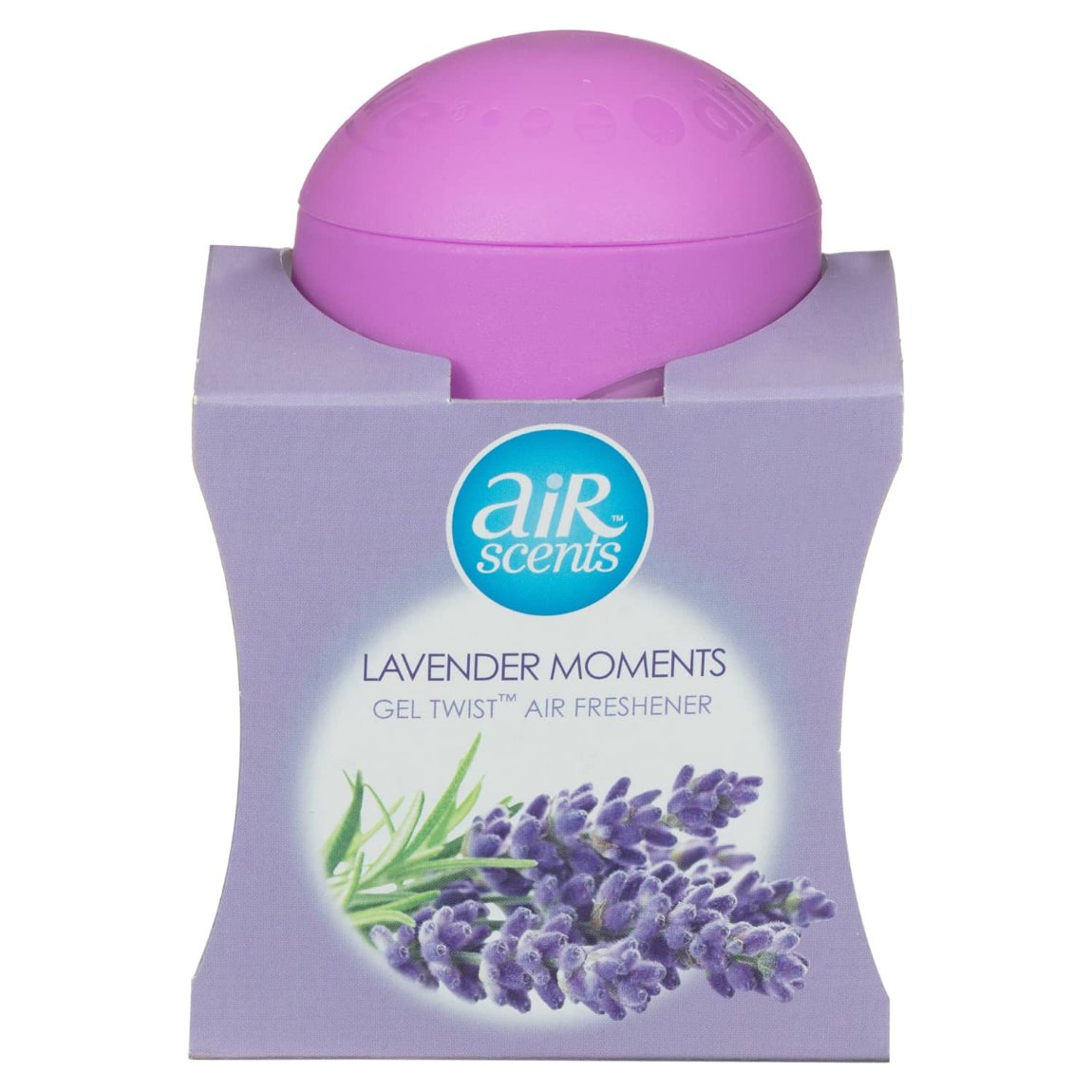 AirScents Gel Twist Air Freshener - Lavender Moments