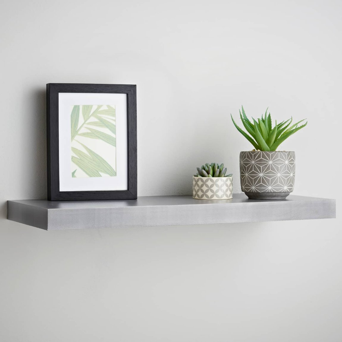 Lokken Floating Shelf 60cm - Grey