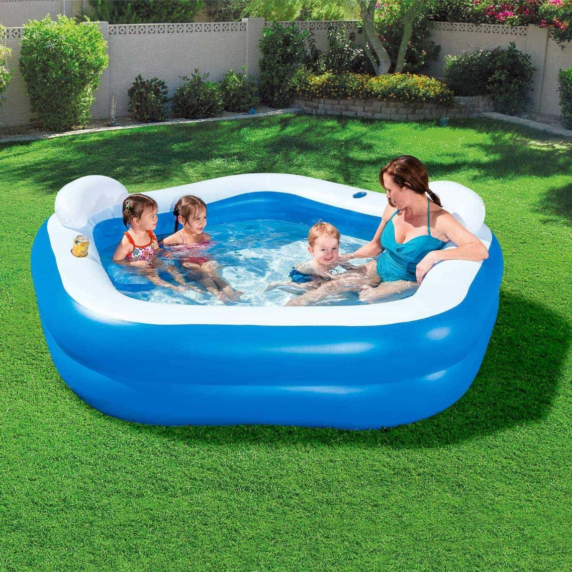 Bestway Inflatable Garden Pool From B&M Toys