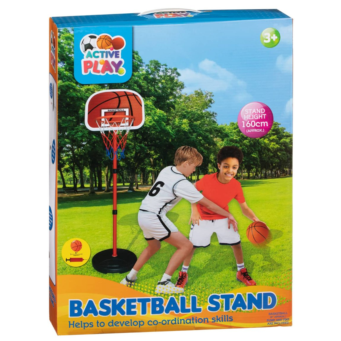 Basketball Hoop & Stand From B&M Toys
