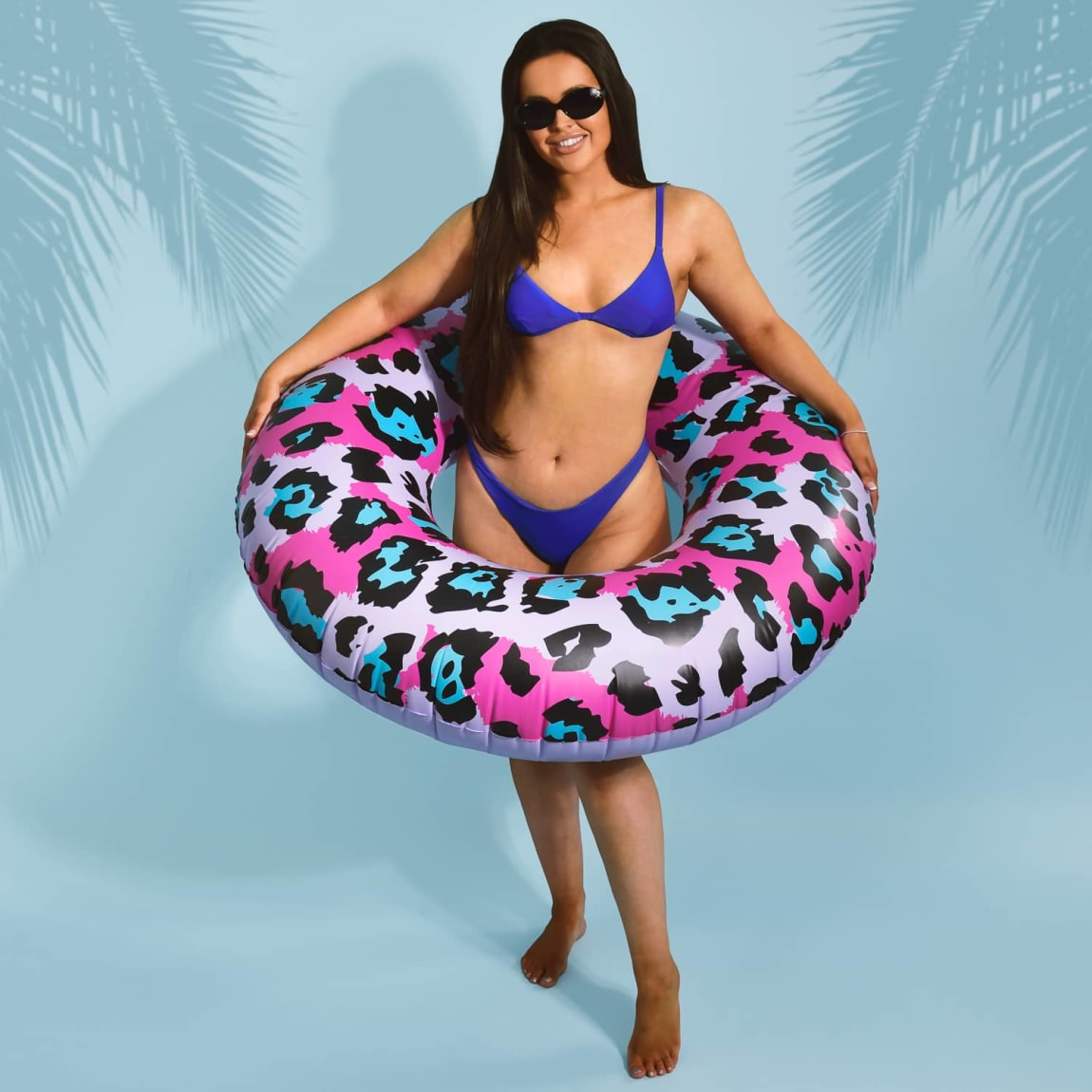 Inflatable Swim Ring - Leopard