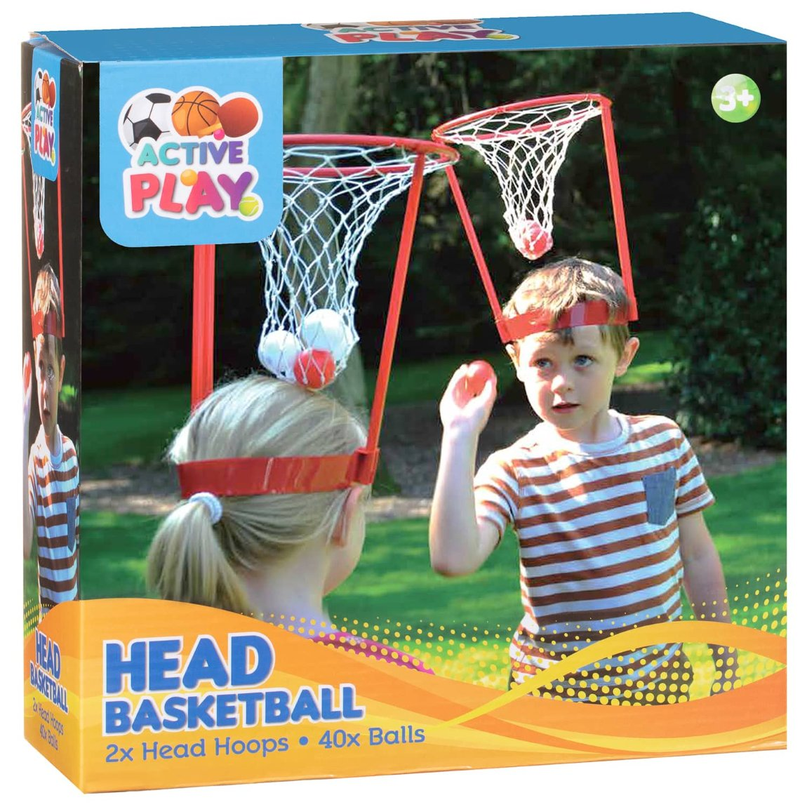 Head Basketball 2pk From B&M Toys