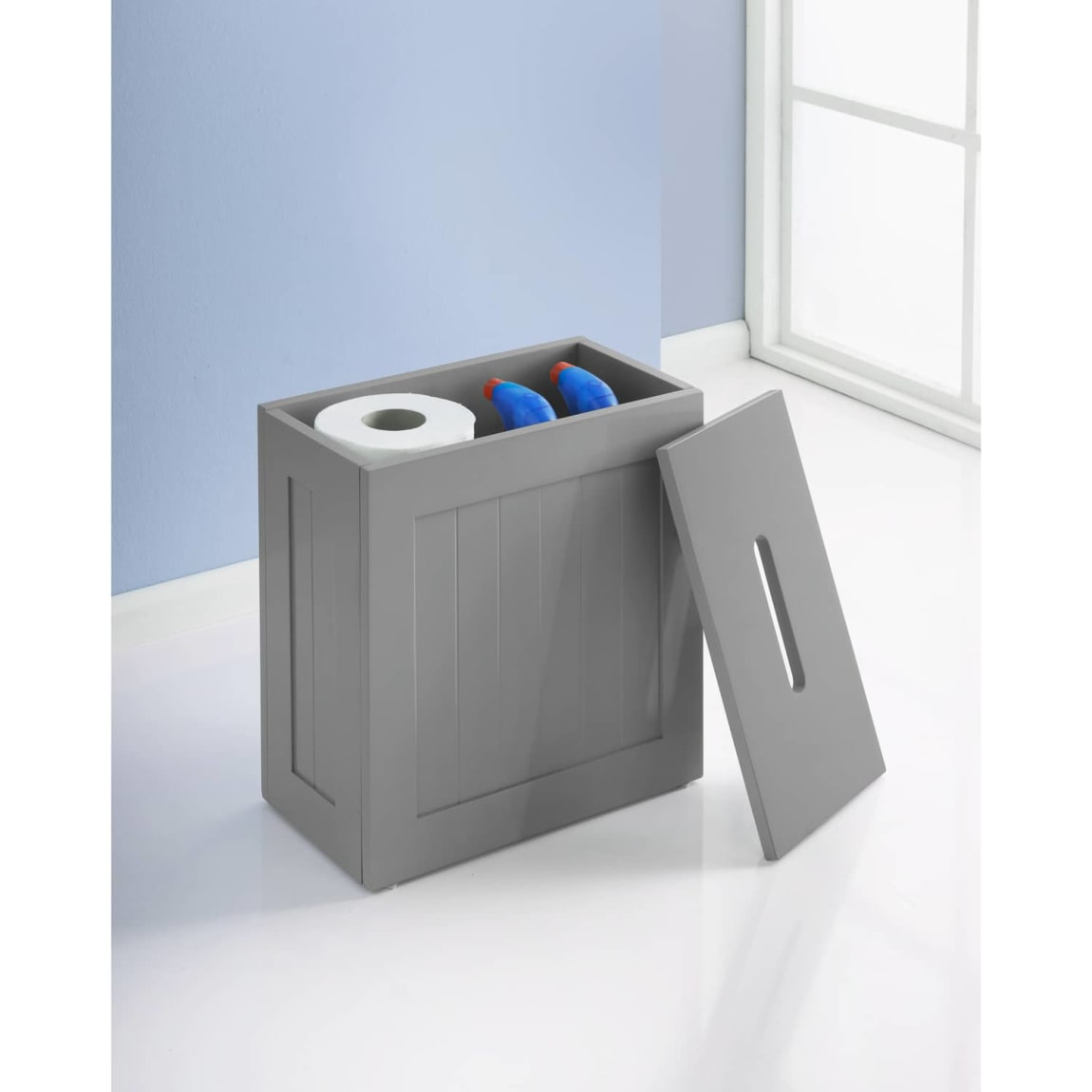 Maine Bathroom Storage Unit - Grey