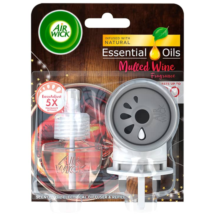 Air Wick Essential Oils Diffuser & Refill Kit - Mulled Wine
