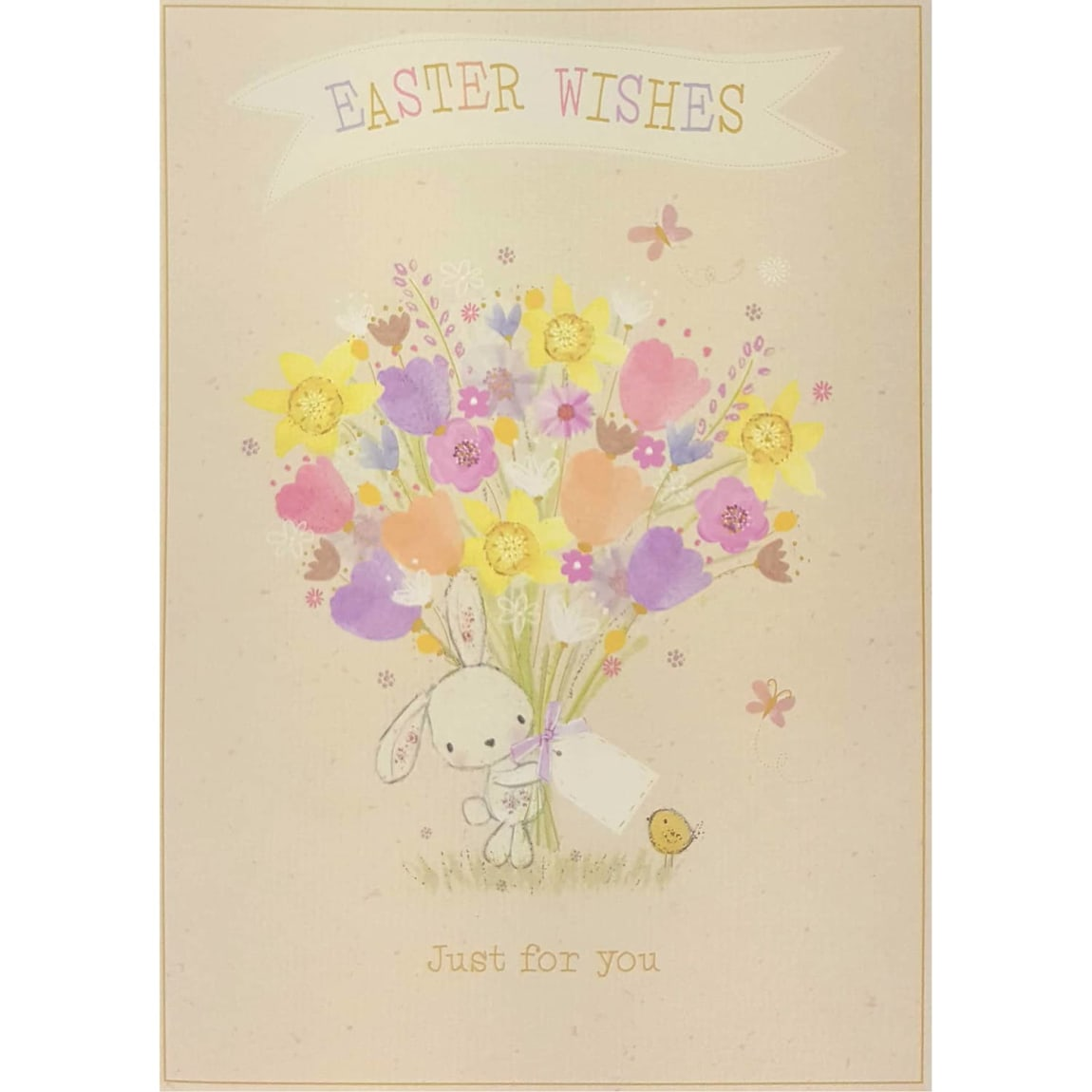 Flowers - Easter Card