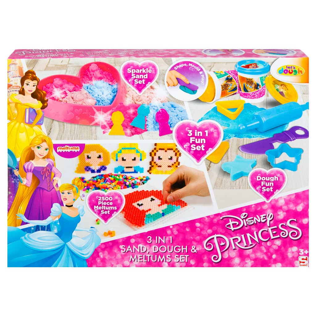 Disney Princess 3-in-1 Fun Set