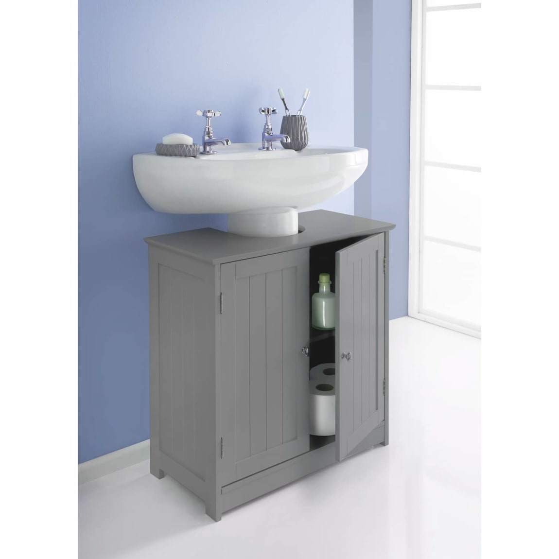 Maine Under Sink Unit - Grey