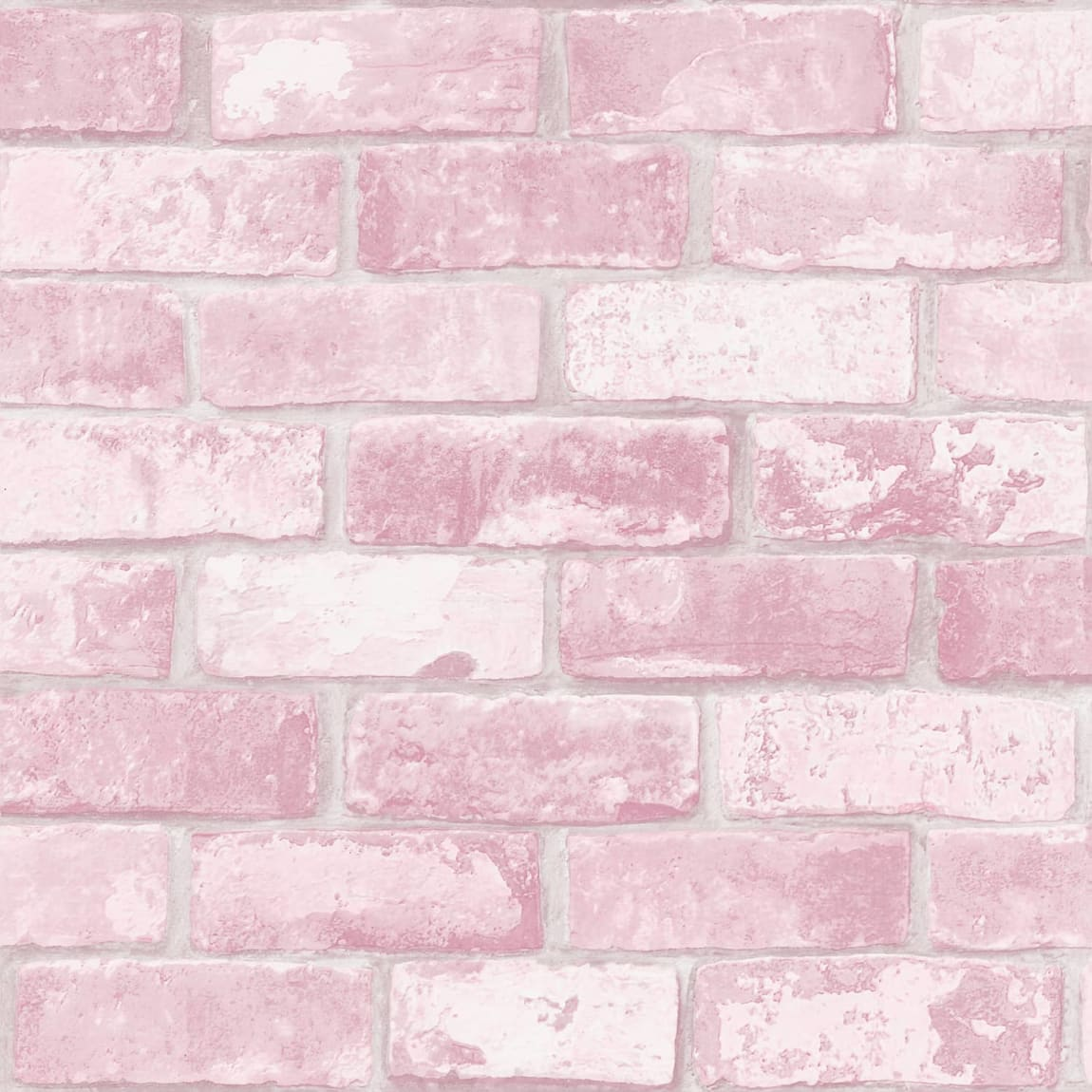 Glitter Brick Pink Wallpaper
