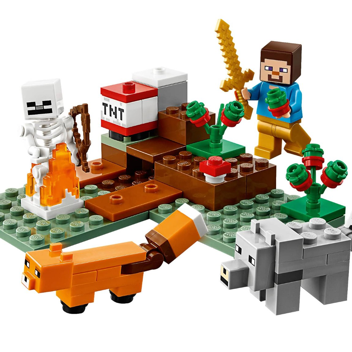 LEGO Minecraft The Taiga Adventure