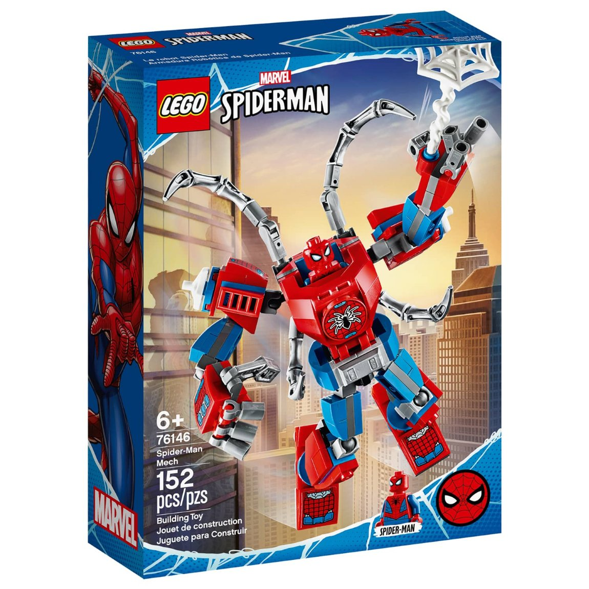 LEGO Marvel Spider-Man Mech From B&M Toys