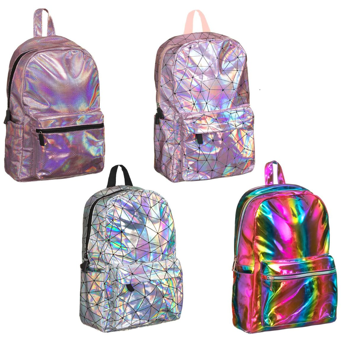 Holographic Backpack - Rainbow