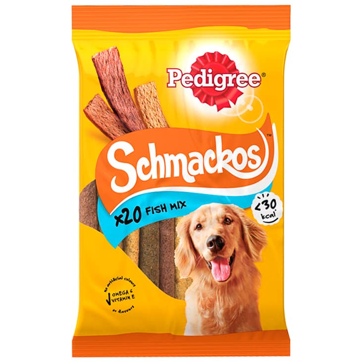 Pedigree Schmackos Fish Mix 20pk