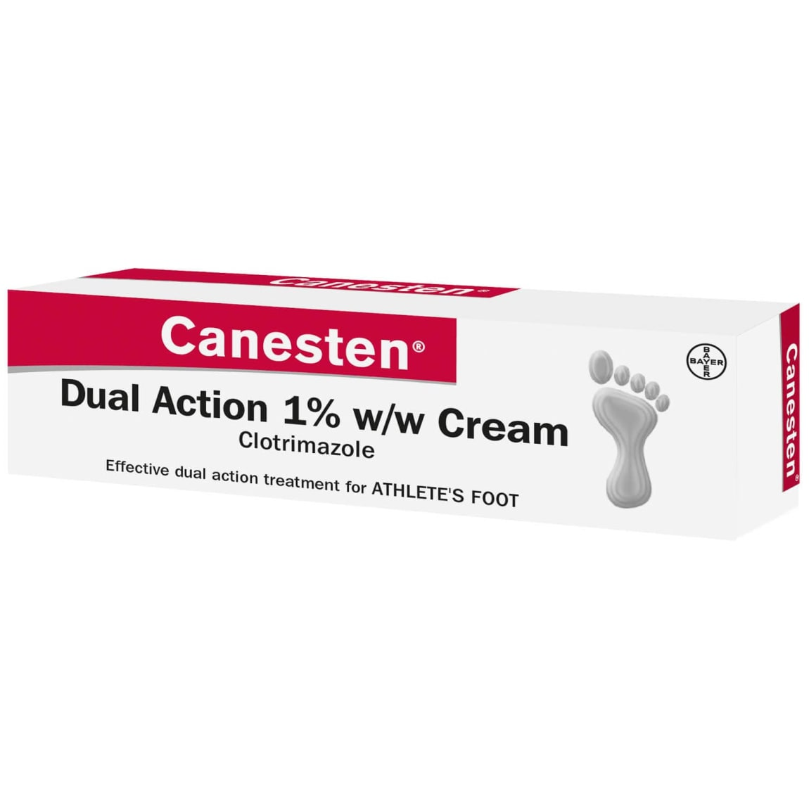 Canesten Dual Action Athlete's Foot Cream 15g