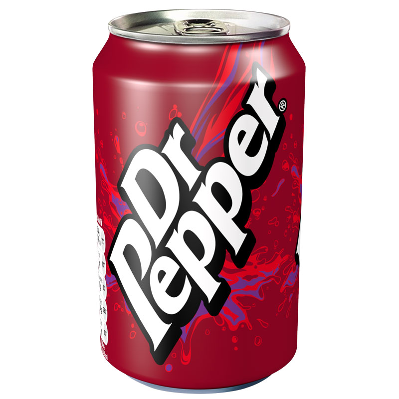Dr Pepper Can 330ml Soft Drink Groceries B Amp M