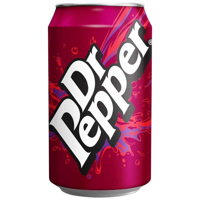 Dr Pepper Can 330ml