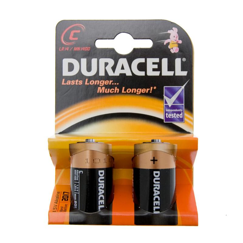 b m duracell c type alkaline batteries 2pk 112557 b m. Black Bedroom Furniture Sets. Home Design Ideas
