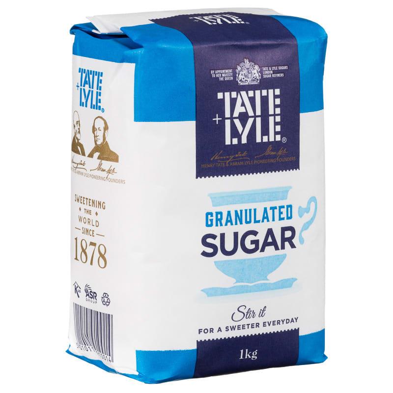 BampM Tate Amp Lyle Cane Sugar Granulated 1kg 1236941 BampM