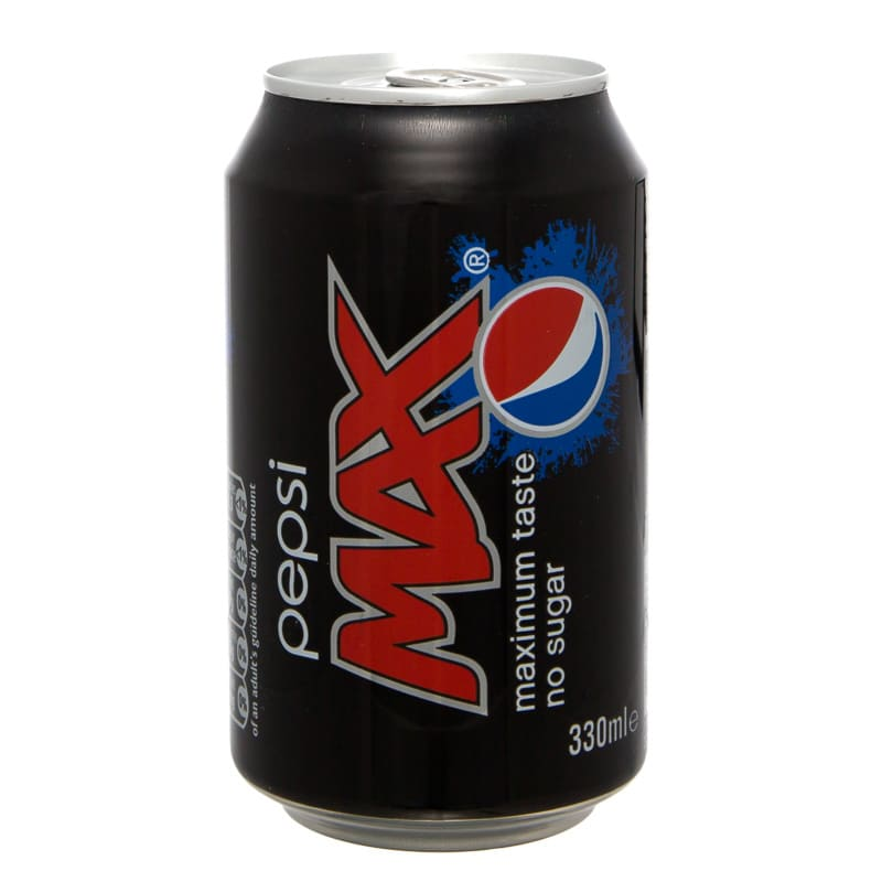 Pepsi Max Can 330ml | Grocery | Soft Drinks - B&M