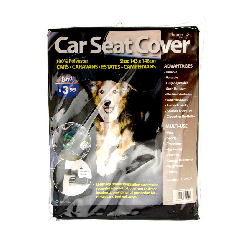 B Amp M Pet Car Seat Cover 143 X 148cm 176155 B Amp M