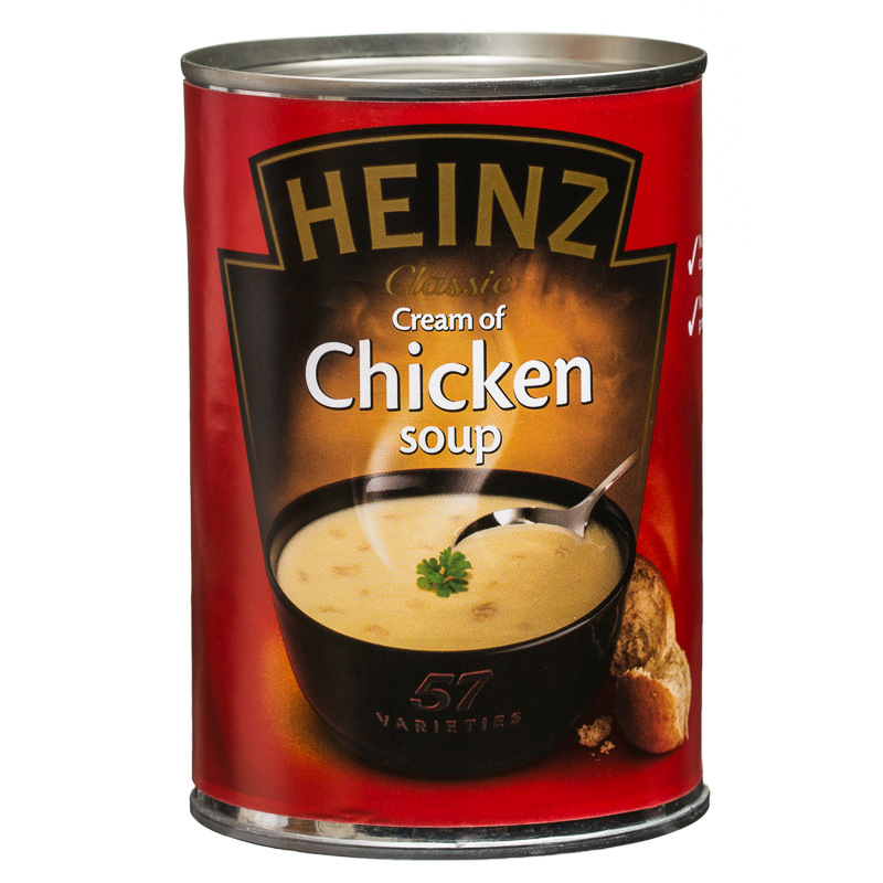 Bathroom accessories stores - Heinz Chicken Soup 400g 185532 B Amp M