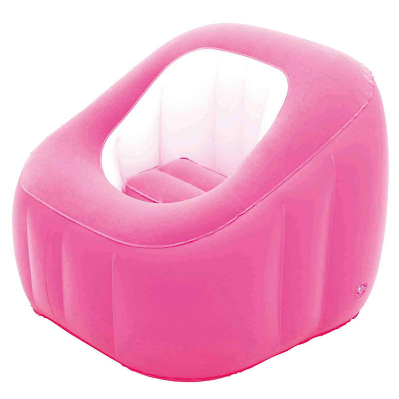 330503-Comfi-Bed-Pink  sc 1 st  Bu0026M : pink blow up chair - Cheerinfomania.Com