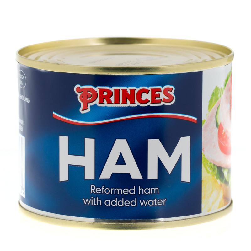 B Amp M Princes Reformed Ham 200g 206116 B Amp M