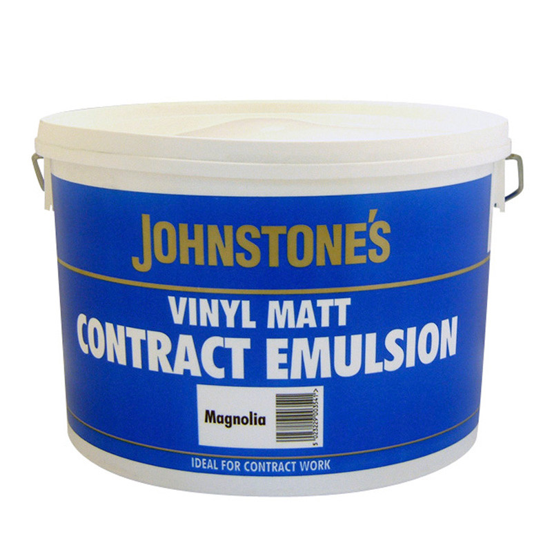 B Amp M Gt Johnstone S Paint Vinyl Matt Contract Emulsion 10l