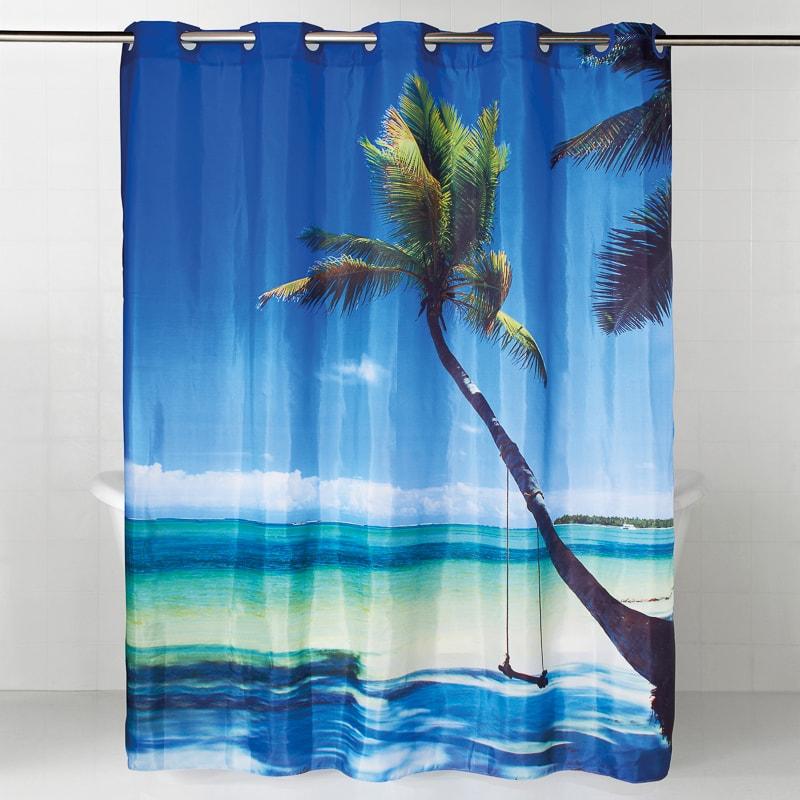 334387 Beach Shower Curtain