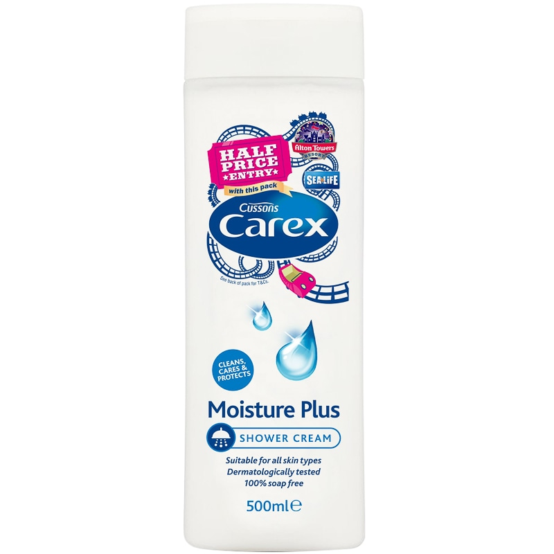 Carex Moisture Plus Shower Cream 500ml