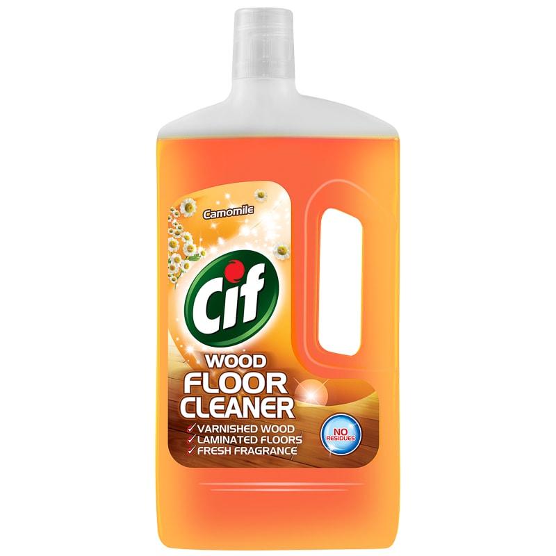 B Amp M Cif Wood Floor Cleaner Camomile 1l 228710 B Amp M