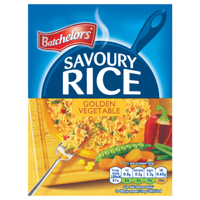 Batchelors Savoury Rice Golden 120g Groceries Instant Rice