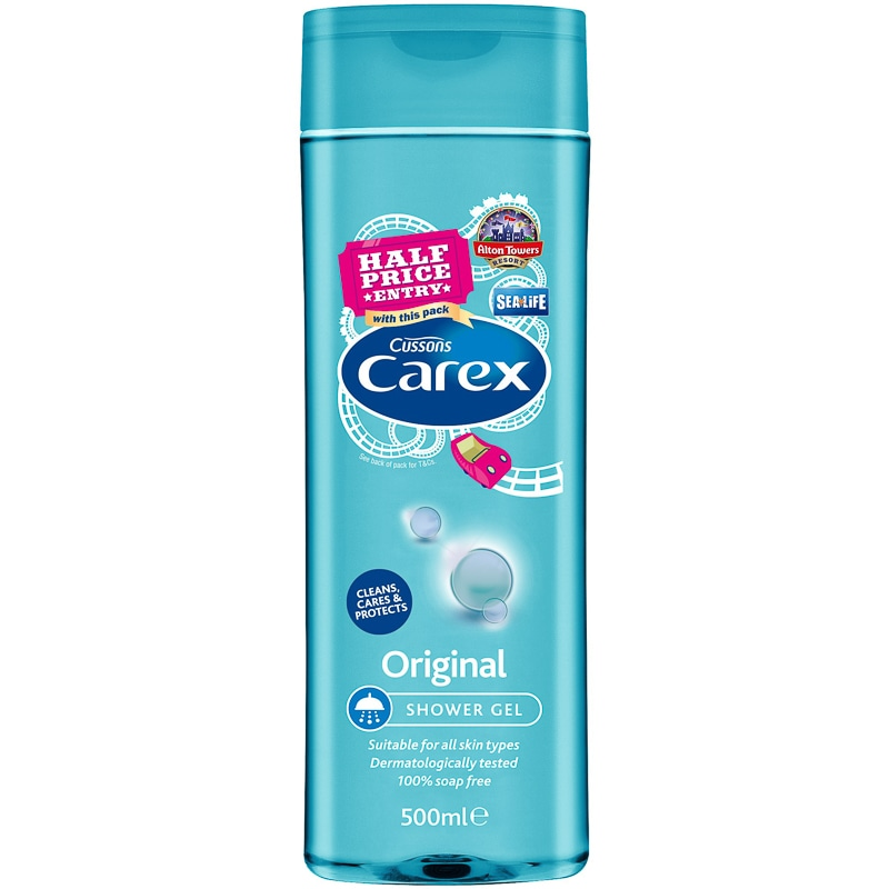 Carex Original Shower Gel 500ml Soap Shower Amp Bath