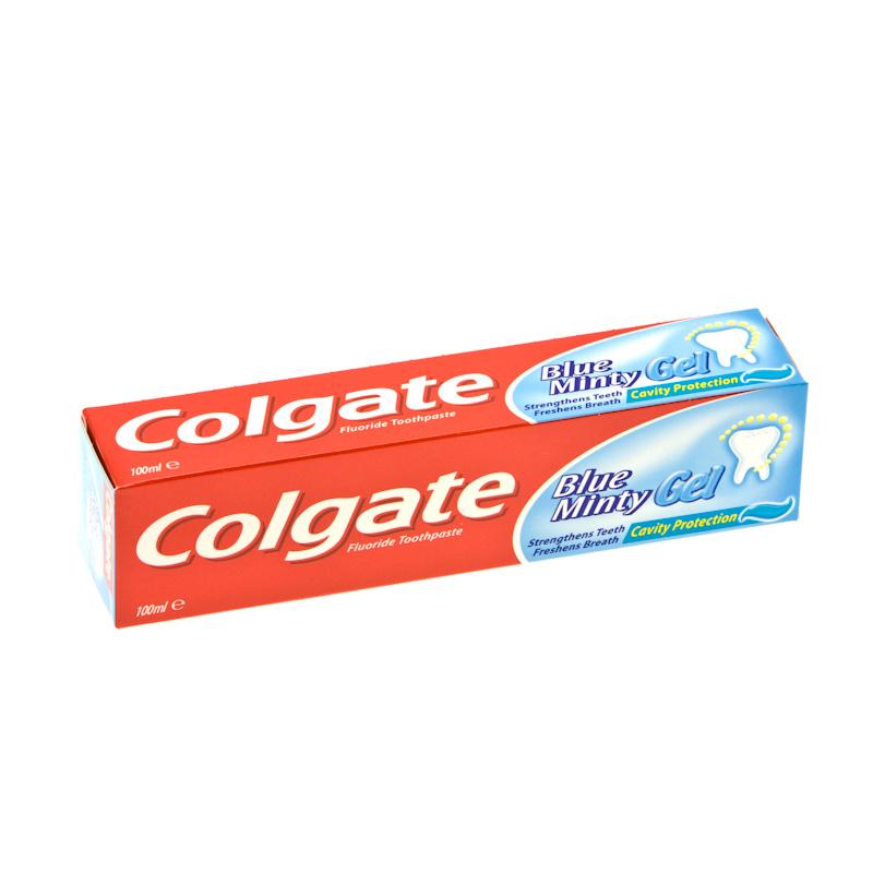 B Amp M Colgate Blue Minty Gel Toothpaste 100ml 232989 B Amp M