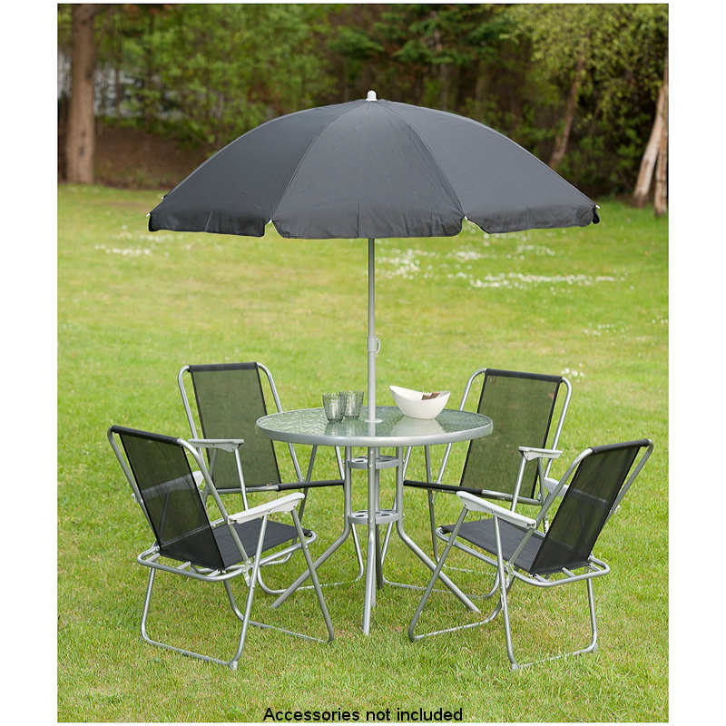 Garden Table And Chairs Set Next: B&M: > Milano Patio Set 6pc