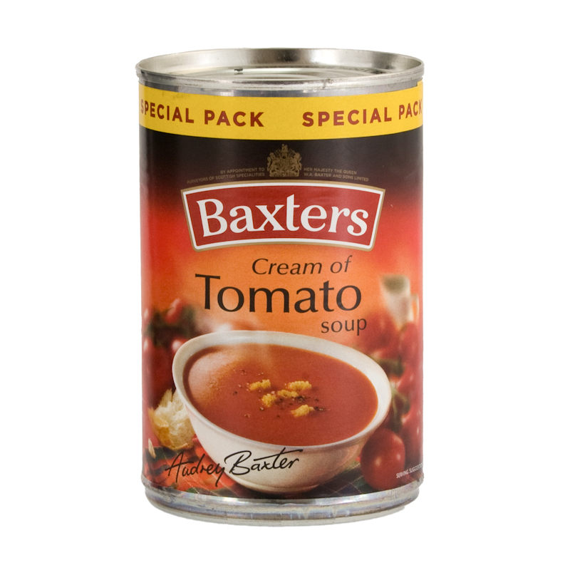 Home Food & Drink Food Baxters Tomato Soup 380g M Fish Packaging