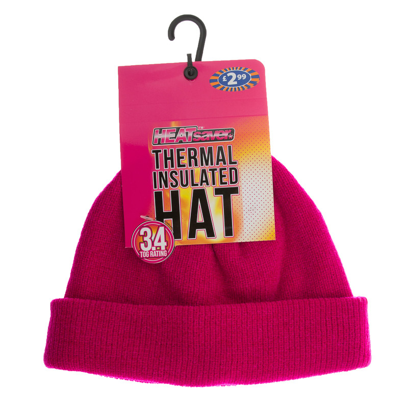 HEATsaver Ladies Thermal Insulated Hat - Pink