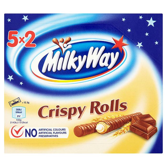 Milky Way Crispy Rolls