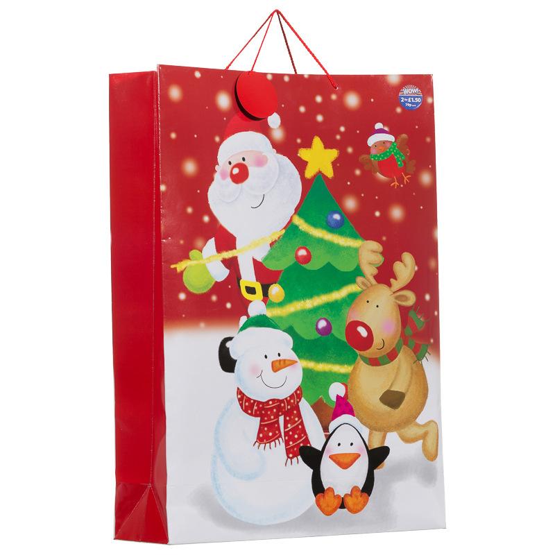 B m giant portrait christmas gift bags presents xmas
