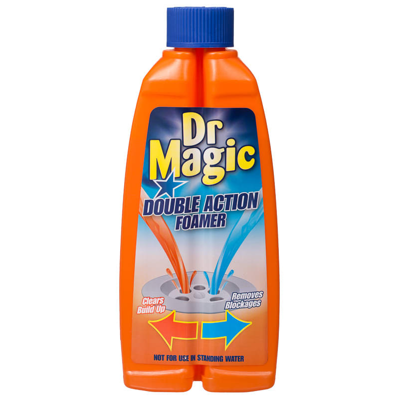 Dr Magic Double Action Foamer Drain Cleaner Cleaning